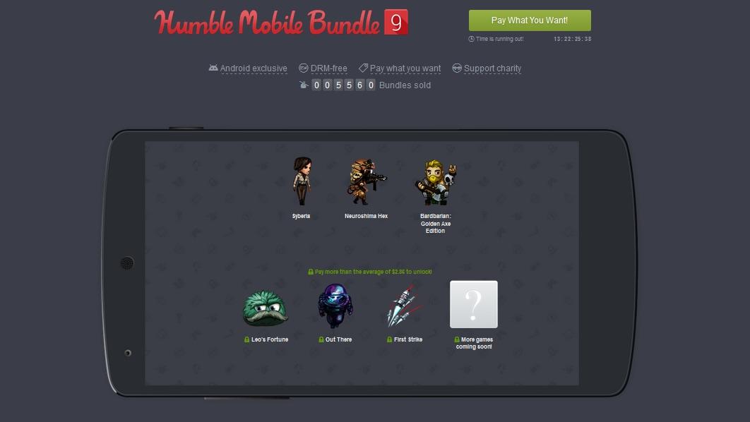 Humble Mobile Bundle 9: sei giochi tra cui Leo's Fortune a meno di 3€, con un gioco in regalo!