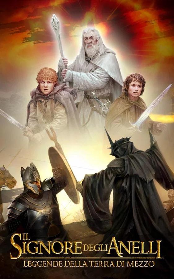 Il Signore degli Anelli Leggende della Terra di Mezzo Header