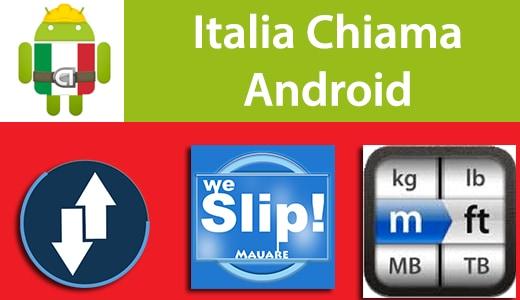 Italia Chiama Android: 3G NoRadiation, weSlip! Free, Unit Converter