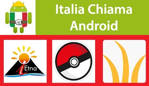 Italia Chiama Android: iEtna, PokèmonMaster, ZenLock