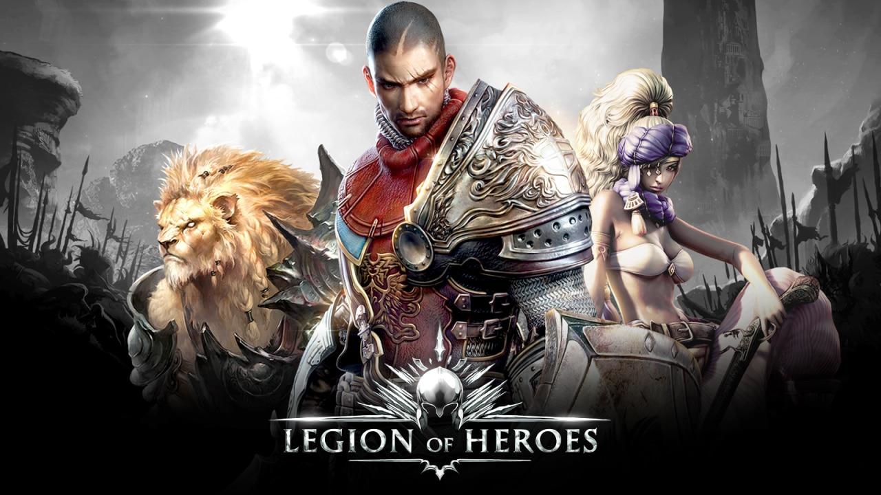 Legion of Heroes Header