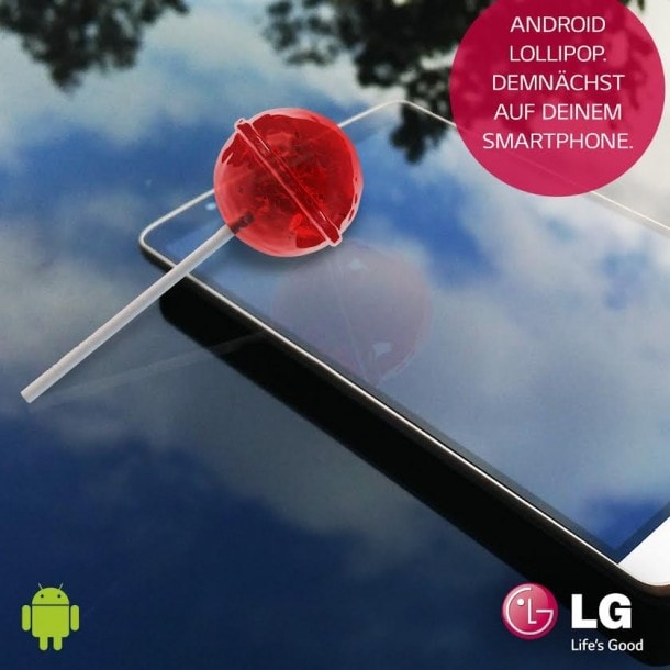 Lg lollipop