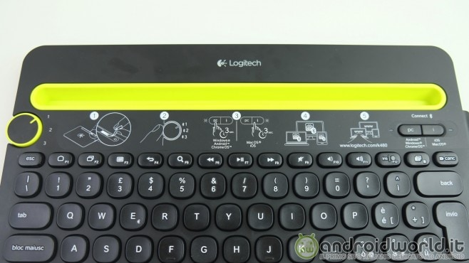 Logitech Tastiera Bluetooth K480 - 1