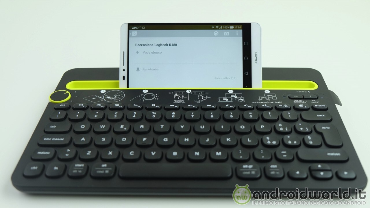Logitech Tastiera Bluetooth K480 - 19