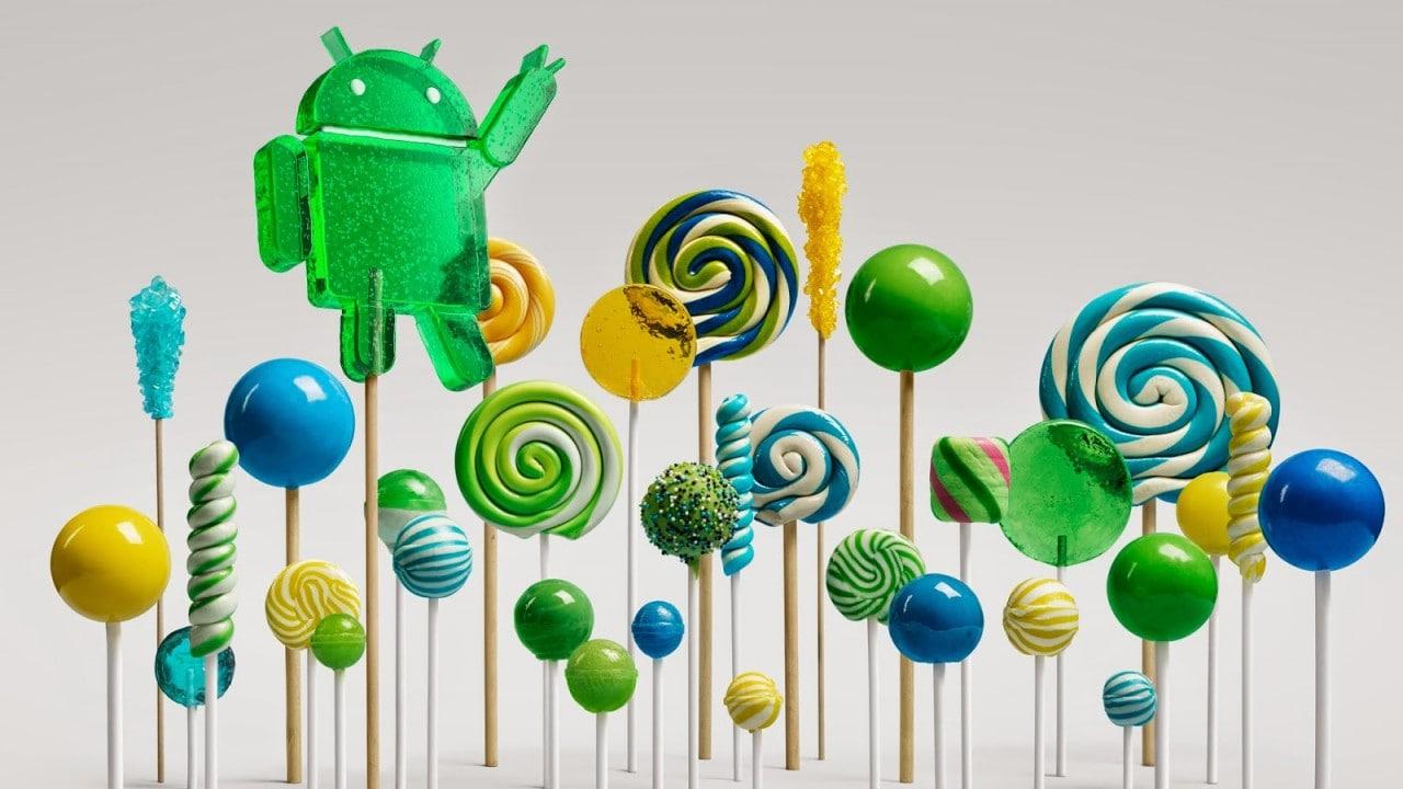 Android 5.0 Lollipop inizia a comparire nell'AOSP