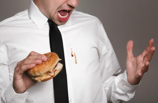 Vale lo stesso discorso per gli hamburger! Certo che sei furbo.