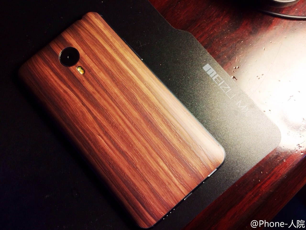 Meizu-Mx4-Wood-Back