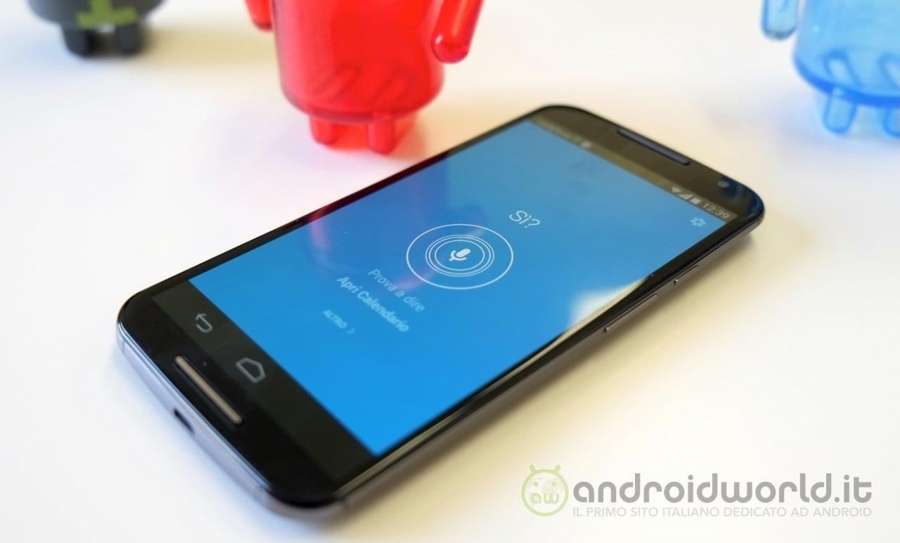 Moto X 2014 attivazione vocale 1