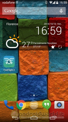 Moto X 2014 screenshot home