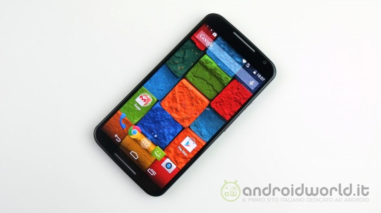 Motorola Moto X (2014) si aggiorna ad Android 5.0 Lollipop in Italia