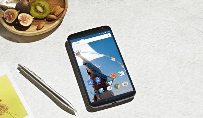 Motorola Nexus 6 final render