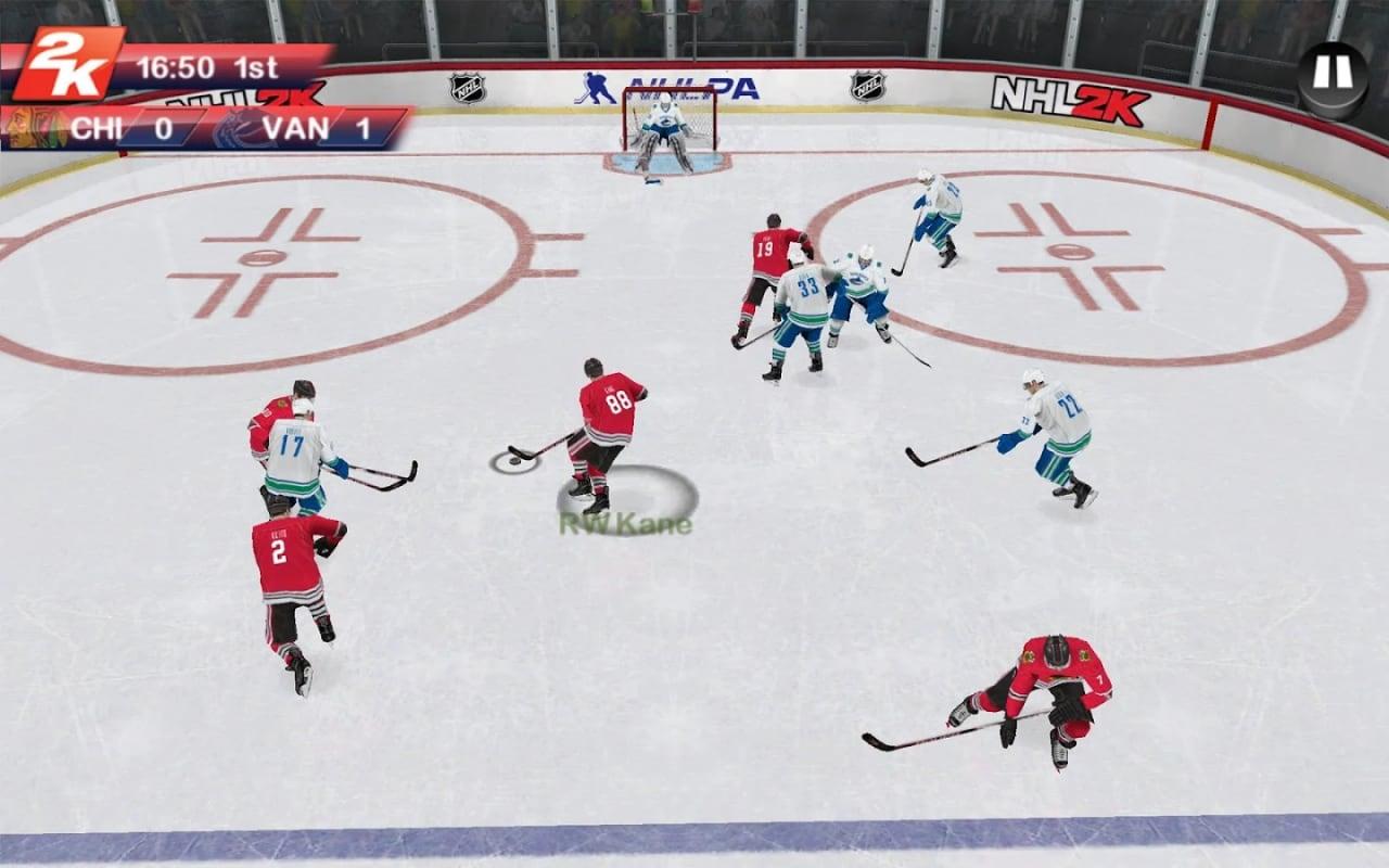 NHL 2K: l'hockey torna su Android con il nuovo gioco di 2K Games (foto e video)