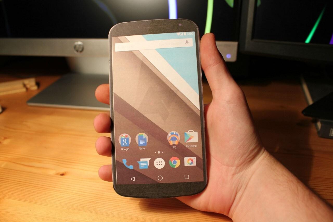 Nexus 6 legno handmade -4