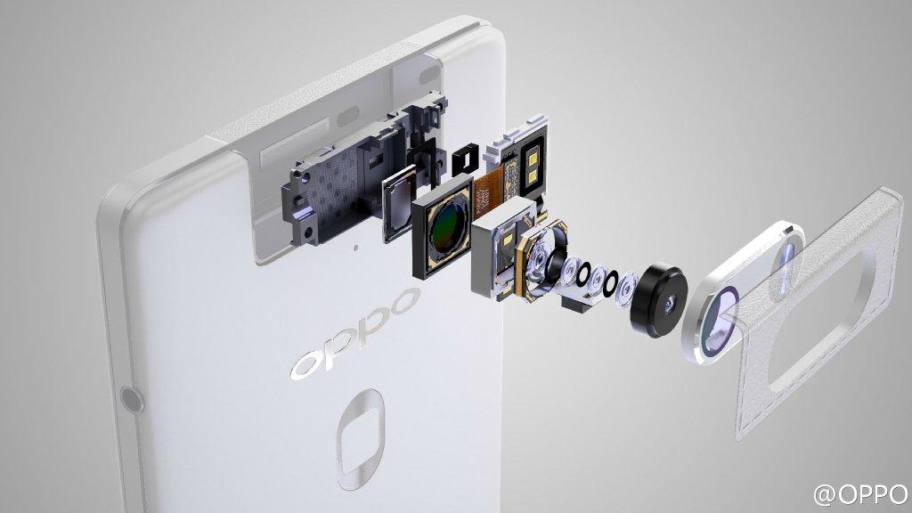 Un render svela nel dettaglio la fotocamera e il lettore di impronte di Oppo N3 (foto)