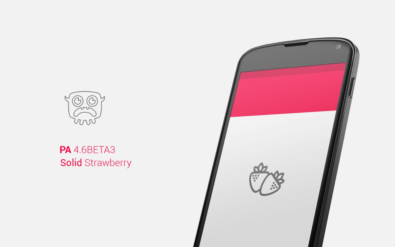 Paranoid Android 4.6 beta 3 Solid Strawberry disponibile al download