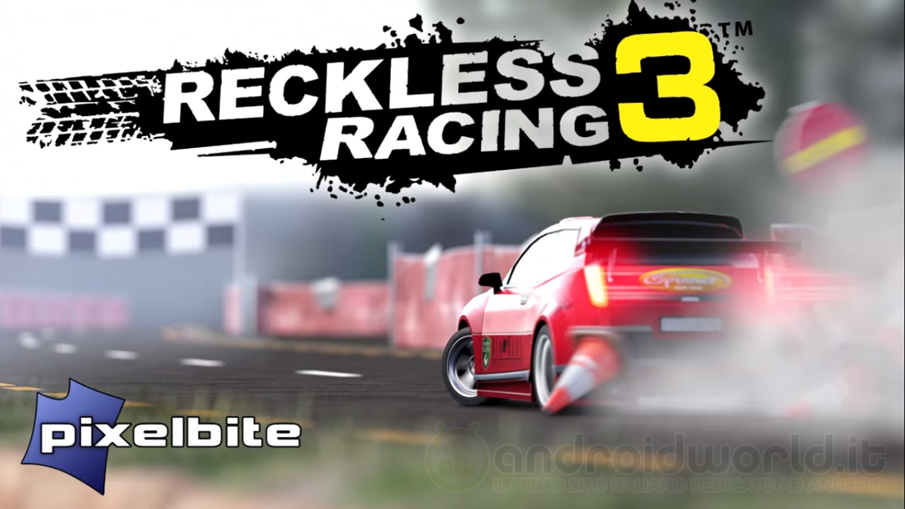 Reckless Racing 3 Android Header