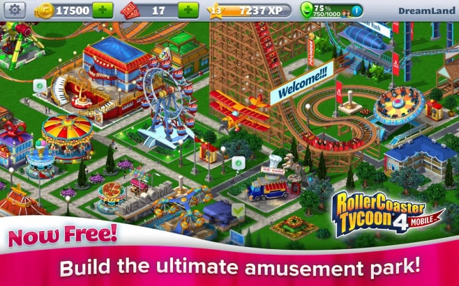 RollerCoaster Tycoon 4 Mobile Android (3)