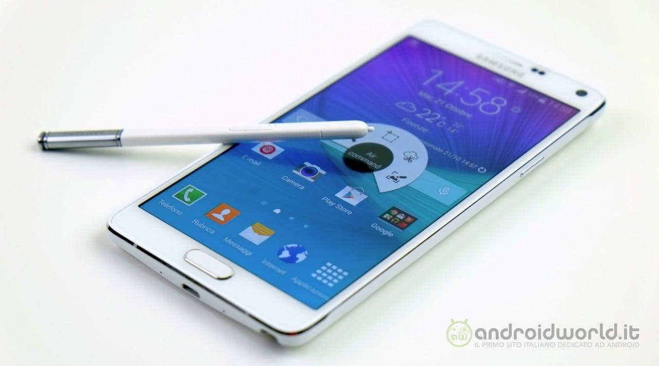 Samsung esalta fotocamera e S-Pen di Galaxy Note 4 (video)