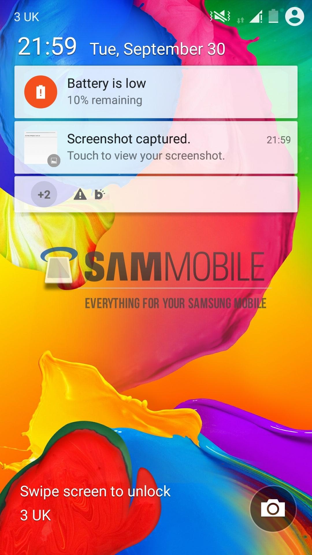 Android L Lollipop Per Samsung Galaxy S5 Si Mostra In
