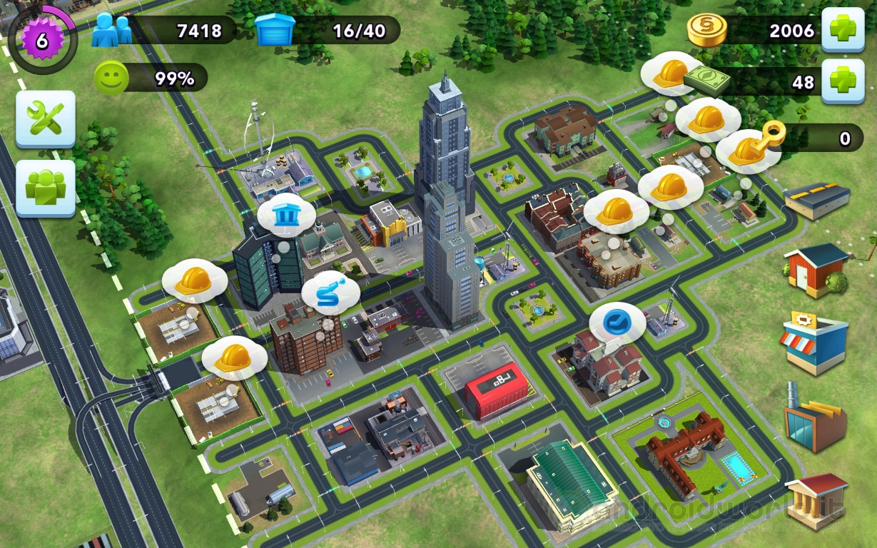 simcity buildit how to create feeder city