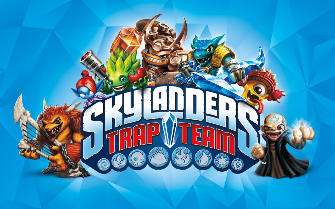 Skylanders Trap Team Play Store Header