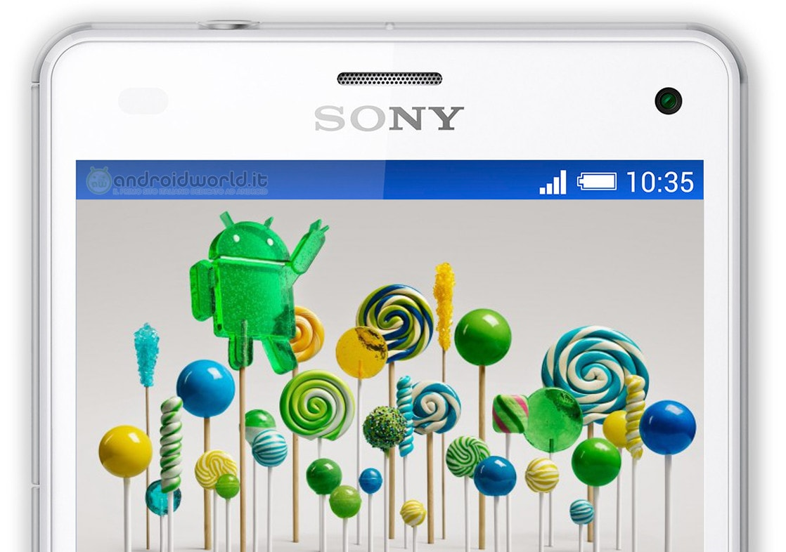 Sony Serie Z Android 5.0 lollipop