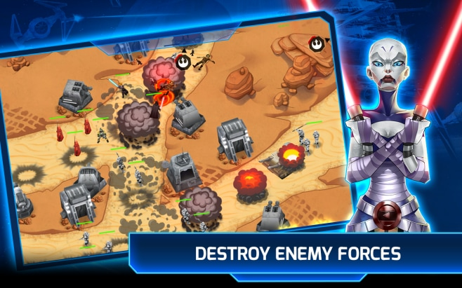 Star Wars Galactic Defense Android Play Store (5)