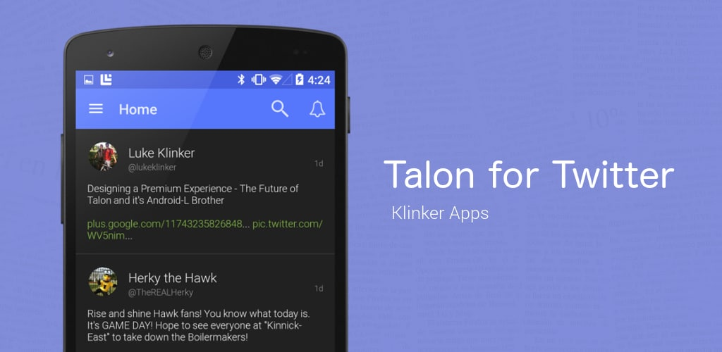 Talon material design