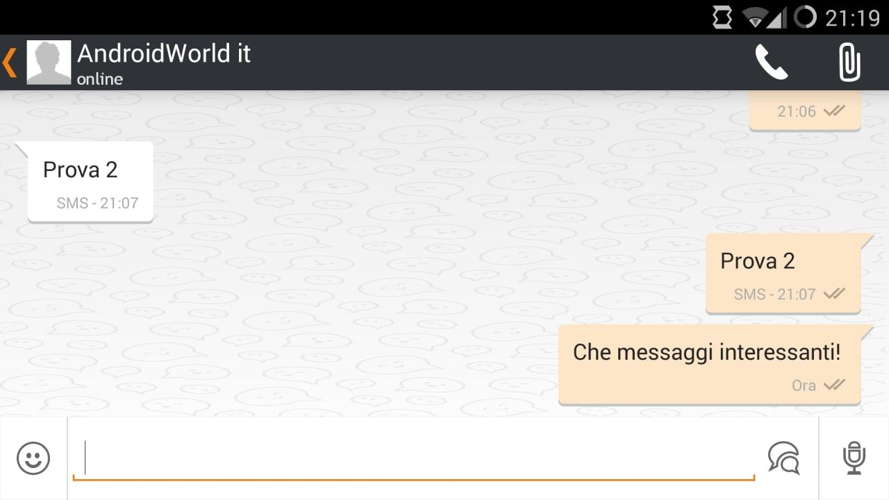 Wind pronta a lanciare la propria app di messaggistica: Wind Talk (foto)