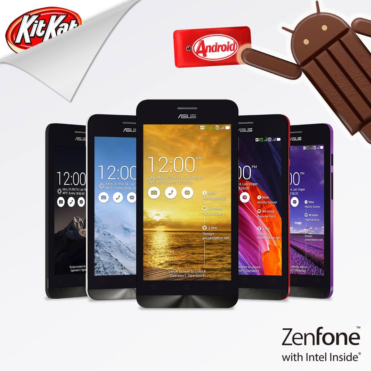 ASUS conferma l'aggiornamento a KitKat anche per Zenfone 5 e Zenfone 6