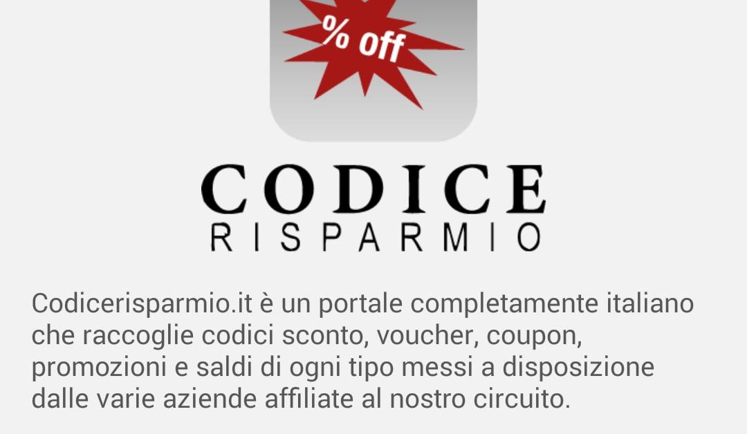 Sconti e coupon per negozi e shop online codice risparmio for Sconti coupon amazon