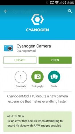 cyanogen camera