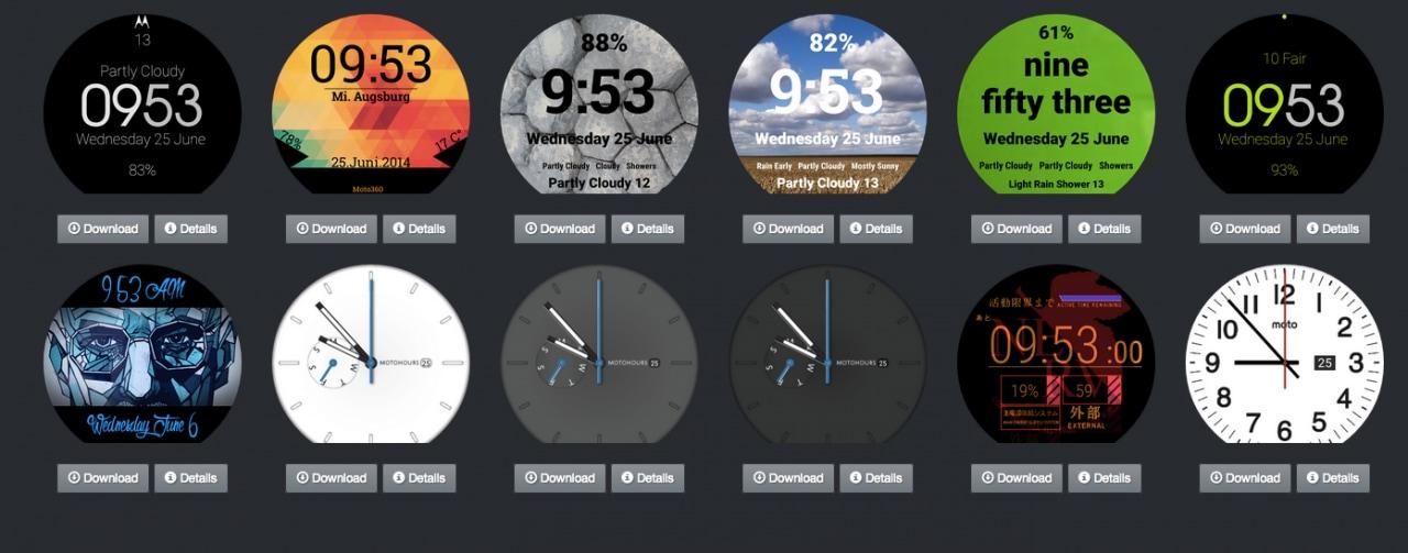 FaceRepo, il sito dove scaricare le vostre watchface