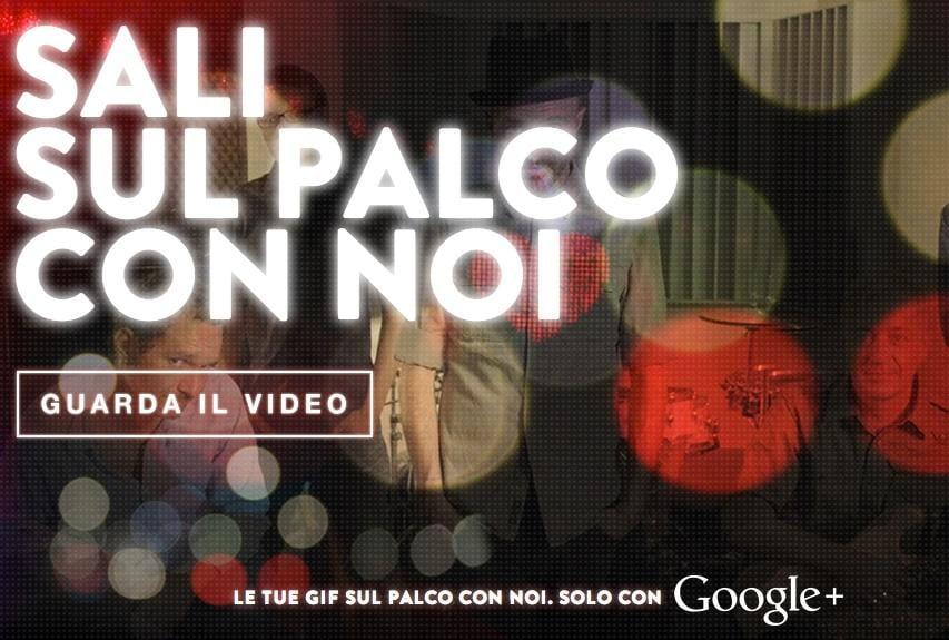#gifdidomenica: il concorso di Google che involge gif, Subsonica e Plus (video)