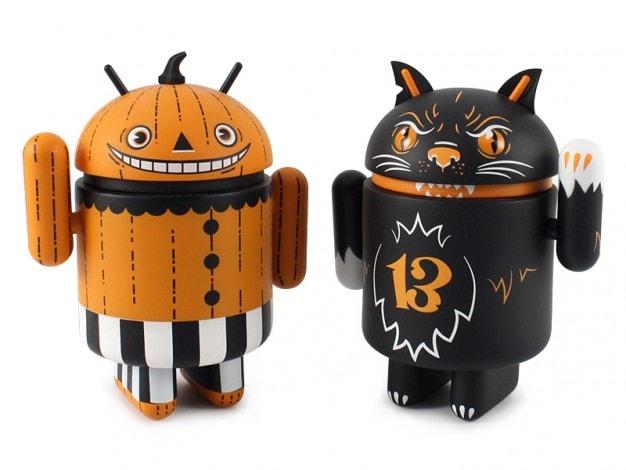 halloween android collezionabili
