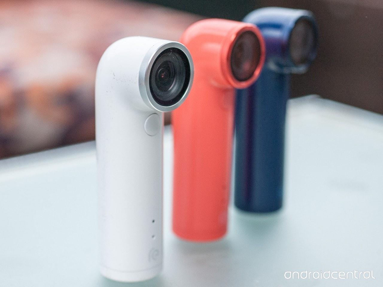 HTC RE hands-on della action cam (foto e video)