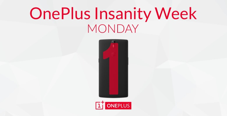 insanity week oneplus one