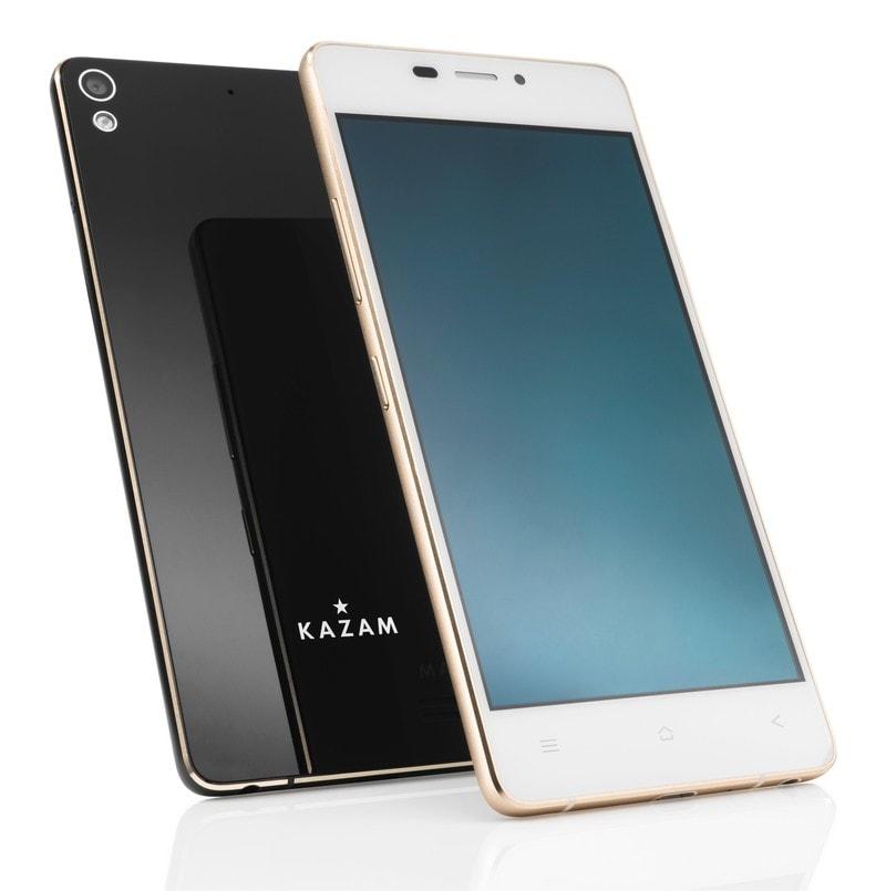 Kazam Tornato 348, lo smartphone per l'Europa spesso solo 5,15 mm