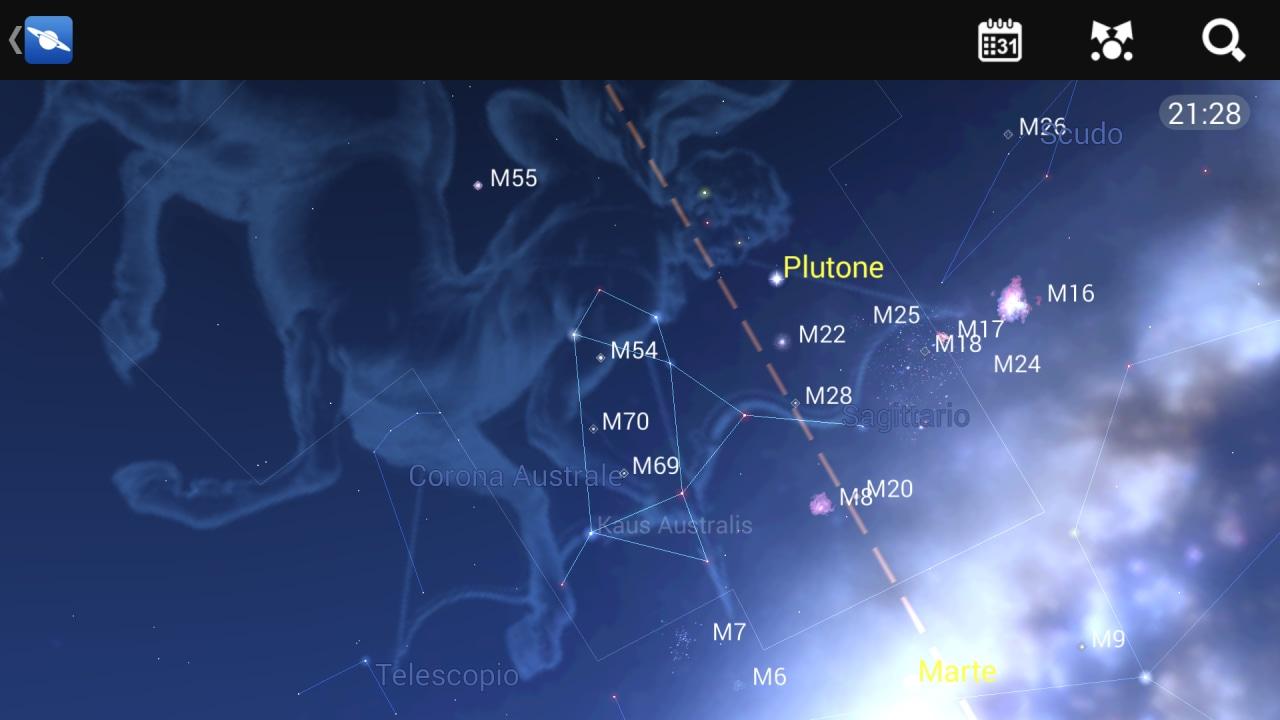 mappa stellare head