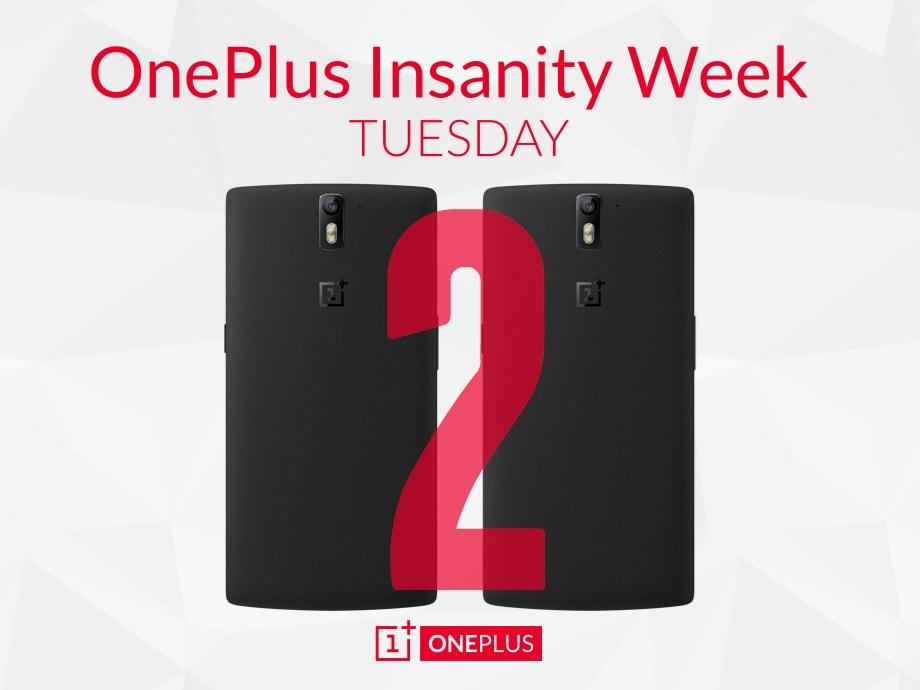 oneplus insanity week 2