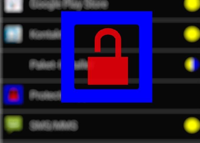 Bloccare efficacemente l'accesso alle app con il modulo Xposed ProtectedApps (foto)