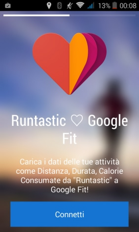 runtastic Google fit