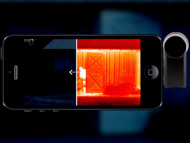 Seek Thermal trasforma lo smartphone in una fotocamera termica (video)