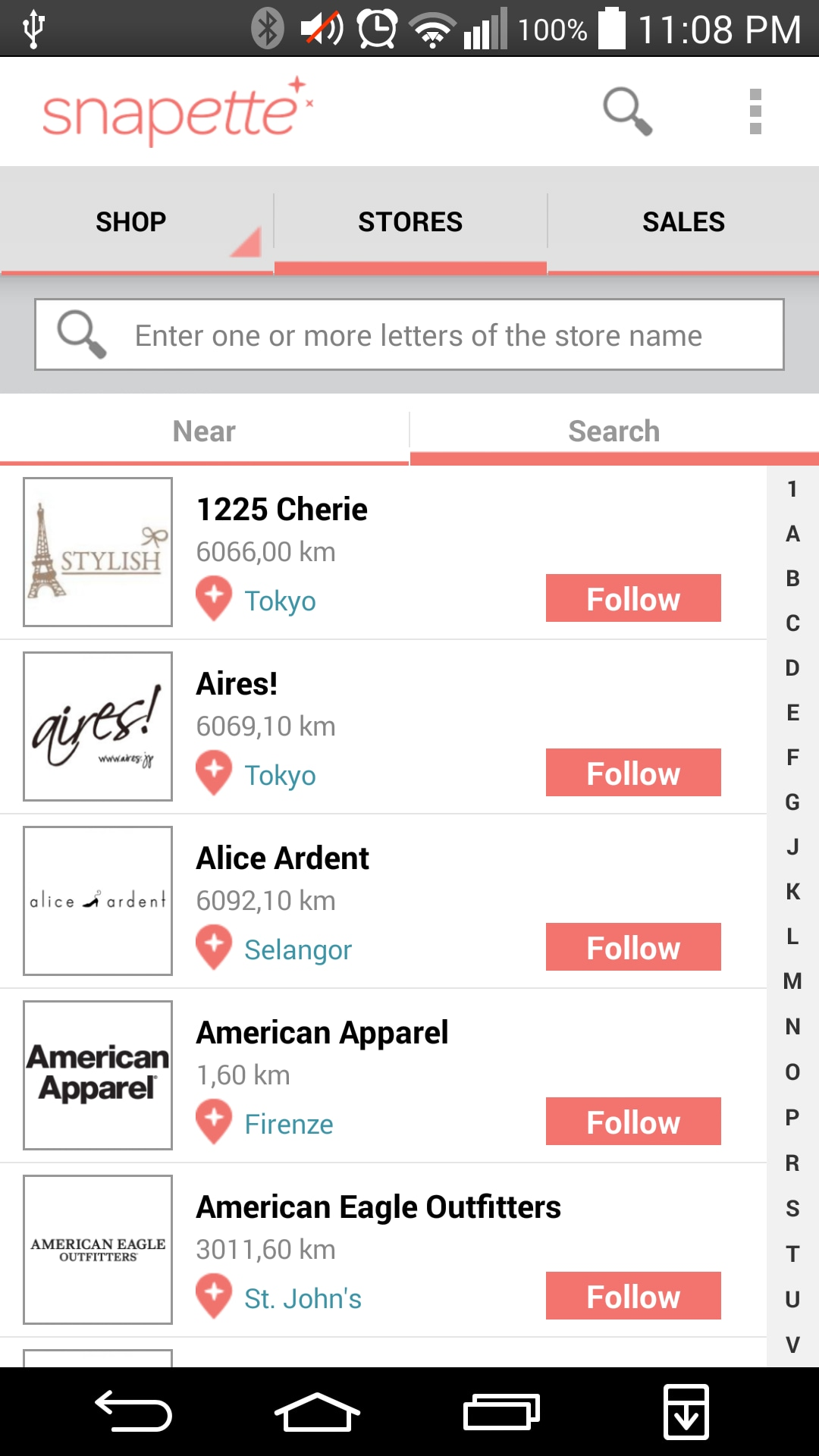 snapette_shopping social su Android (9)