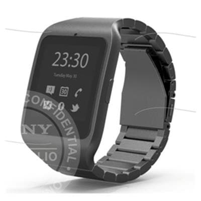 sony smartwatch e metallo