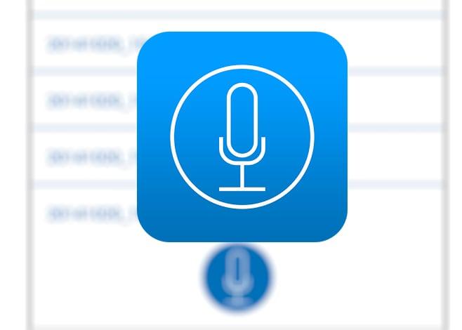 voice recorder_registratore vocale facile da usare
