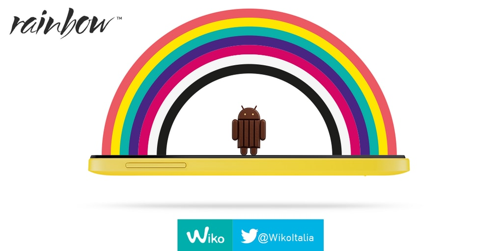 Wiko Rainbow si aggiorna a KitKat (download update)