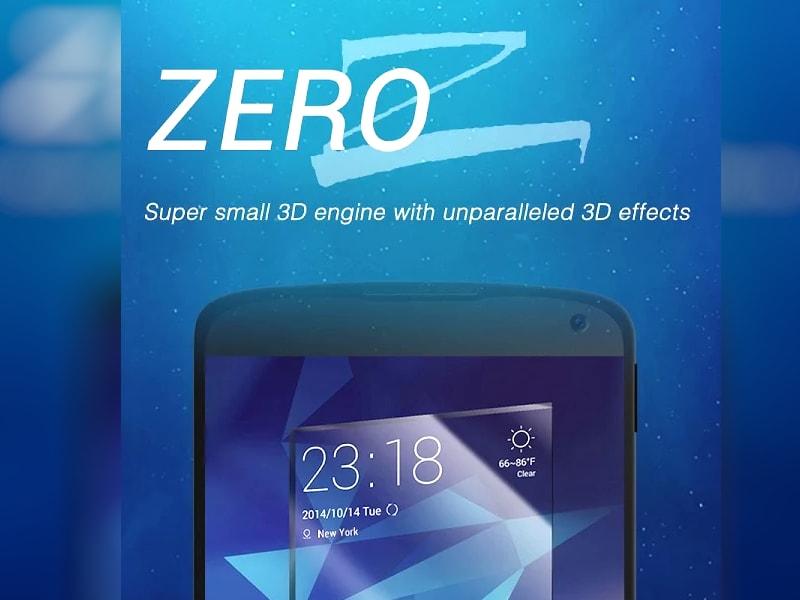 Zero: un launcher completo in meno di 2 MB (foto)