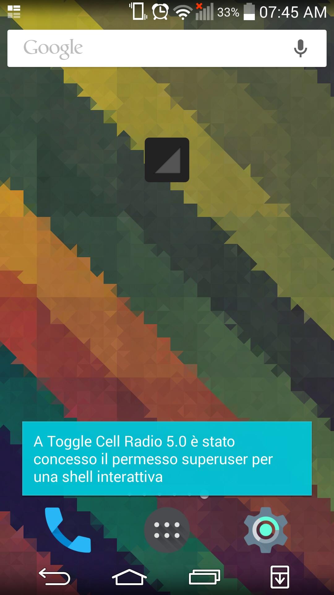 Gestire La Rete Cellulare Con Toggle Cell Radio 5 0 Un