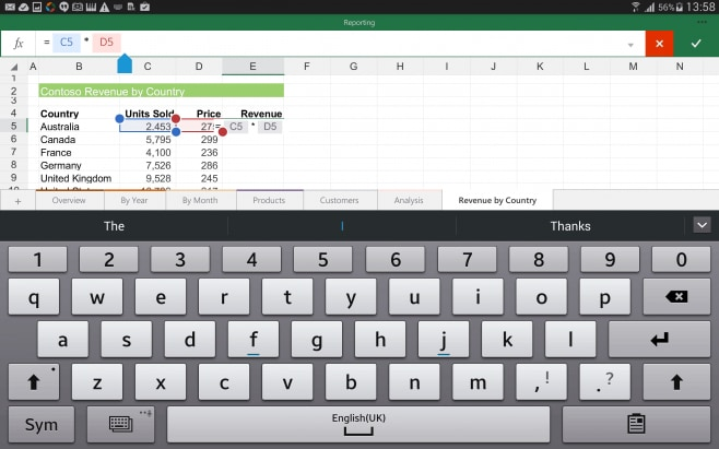 Add-formulas-in-the-Excel-for-Android-tablet-preview
